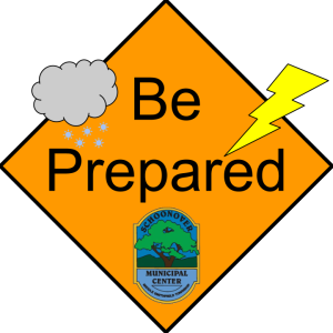 MST Weather Alert Sign
