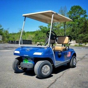 Donated Golf Cart Helps One Brave Boy Scout