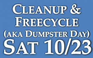 Fall Township Cleanup and Freecycle
